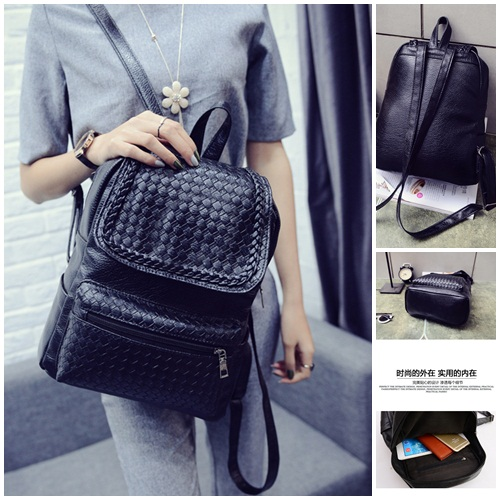 B2889 IDR.149.000 MATERIAL PU SIZE L27XH33XW13CM WEIGHT 700GR COLOR BLACK