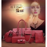 B2932 MATERIAL PU SIZE L32XH20XW10CM WEIGHT 1800GR COLOR RED