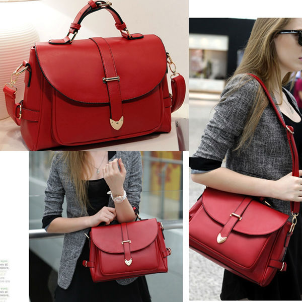 B306 IDR.174.000 MATERIAL PU SIZE L33XH23XW9CM, STRAP 120CM WEIGHT 850GR COLOR RED