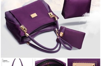 B3316-(3in1) IDR.210.000 MATERIAL NYLON SIZE L30XH23XW9CM WEIGHT 1000GR COLOR PURPLE