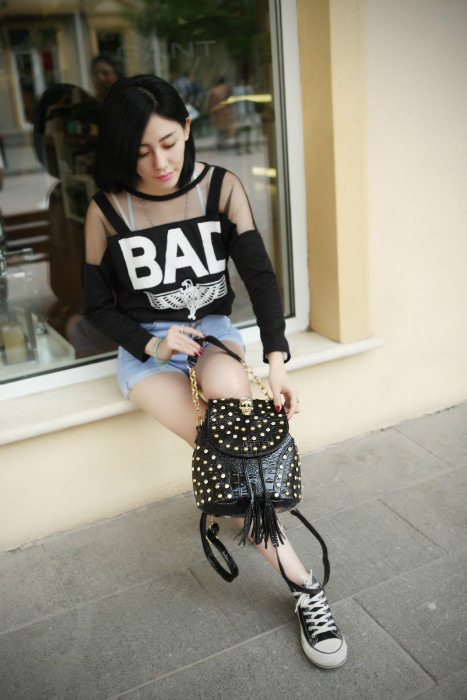 B344 IDR.188.000 MATERIAL PU SIZE L22-17XH24XW16CM WEIGHT 650GR COLOR BLACK
