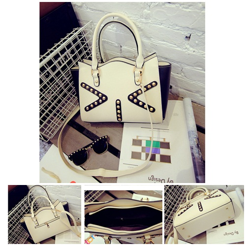 B350 IDR.197.000 MATERIAL PU SIZE L27-35XH19XW10CM WEIGHT 700GR COLOR WHITE