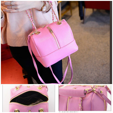 B352 IDR.186.000 MATERIAL PU SIZE L20XH16XW16CM WEIGHT 550GR COLOR PINK