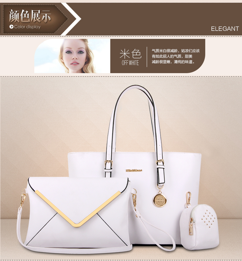 B366(3in1) IDR.225.000 MATERIAL PU SIZE L33-41XH27XW14CM WEIGHT 1000GR COLOR WHITE