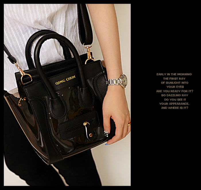 B399(2in1) IDR.186.000 MATERIAL PU+COMPOSITE SIZE L20XH19XW14CM WEIGHT 700GR COLOR BLACK