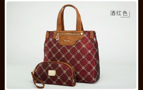 B427 (2in1) - Grosir Tas Import IDR.215.000 MATERIAL PU SIZE L34XH32XW10CM WEIGHT 800GR COLOR RED