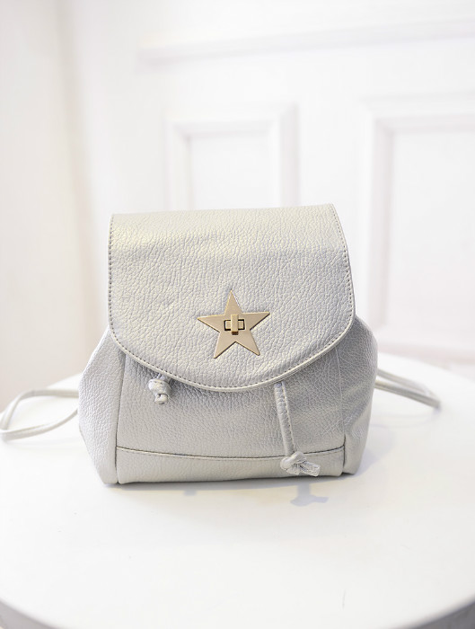B435 IDR.172.000 MATERIAL PU SIZE WEIGHT COLOR SILVER