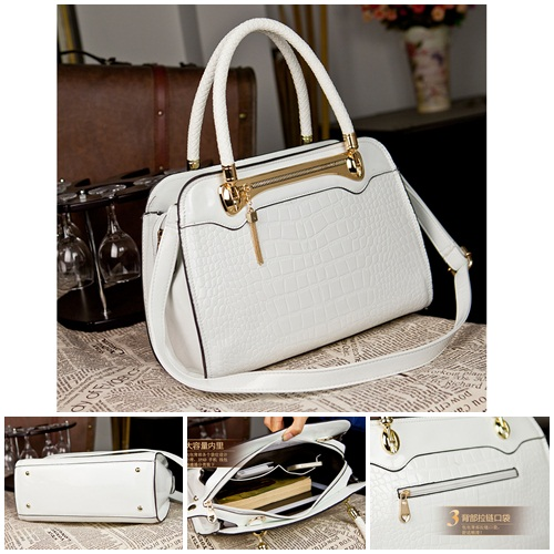 B445 IDR.215.000 MATERIAL PU SIZE L32XH23XW13CM WEIGHT 800GR COLOR WHITE