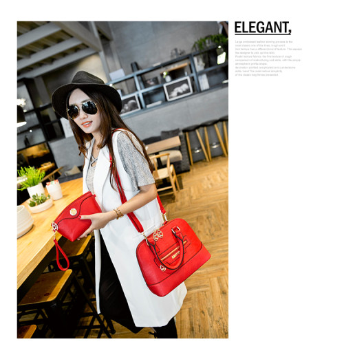 B538 (2in1) IDR.230.000 MATERIAL PU SIZE L30XH22XW13CM WEIGHT 900GR COLOR RED
