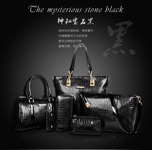 B558-(6in1) IDR.225.000 MATERIAL PU SIZE L30XH30XW13,L27XH18XW13CM WEIGHT 1300GR COLOR BLACK