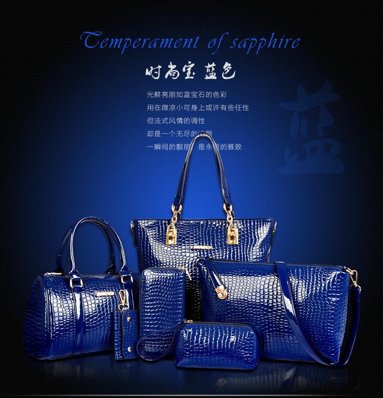 B558-(6in1) IDR.250.000 MATERIAL PU SIZE L30XH30XW13,L27XH18XW13CM WEIGHT 1400GR COLOR BLUE