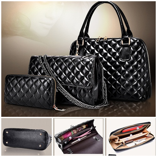 B567-(3in1) IDR.215.000 MATERIAL PU SIZE L32XH22XW13CM WEIGHT 1300GR COLOR BLACK