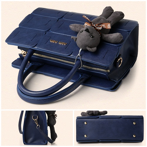 B568 IDR.195.000 MATERIAL PU SIZE L32XH21XW13CM WEIGHT 1200GR COLOR BLUE