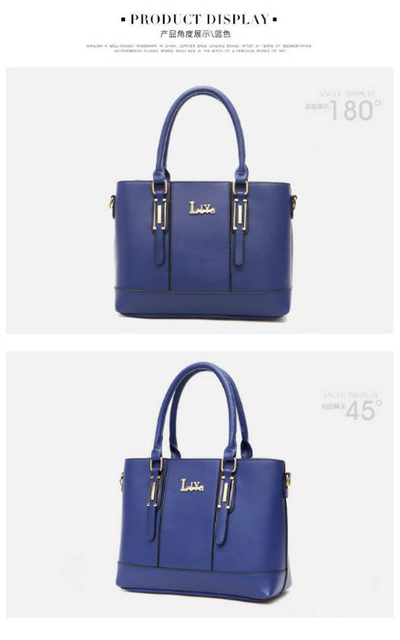 B5910 IDR.192.000 MATERIAL PU SIZE L33XH24XW14CM WEIGHT 850GR COLOR BLUE