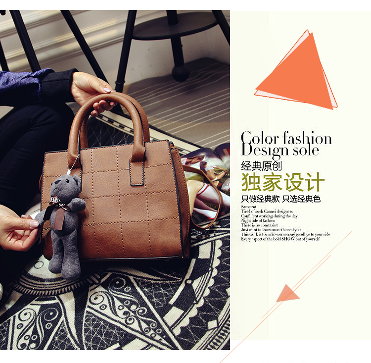 B597 IDR.172.000 TAS FASHION MATERIAL PU SIZE L32XH28XW14CM WEIGHT 780GR COLOR BROWN
