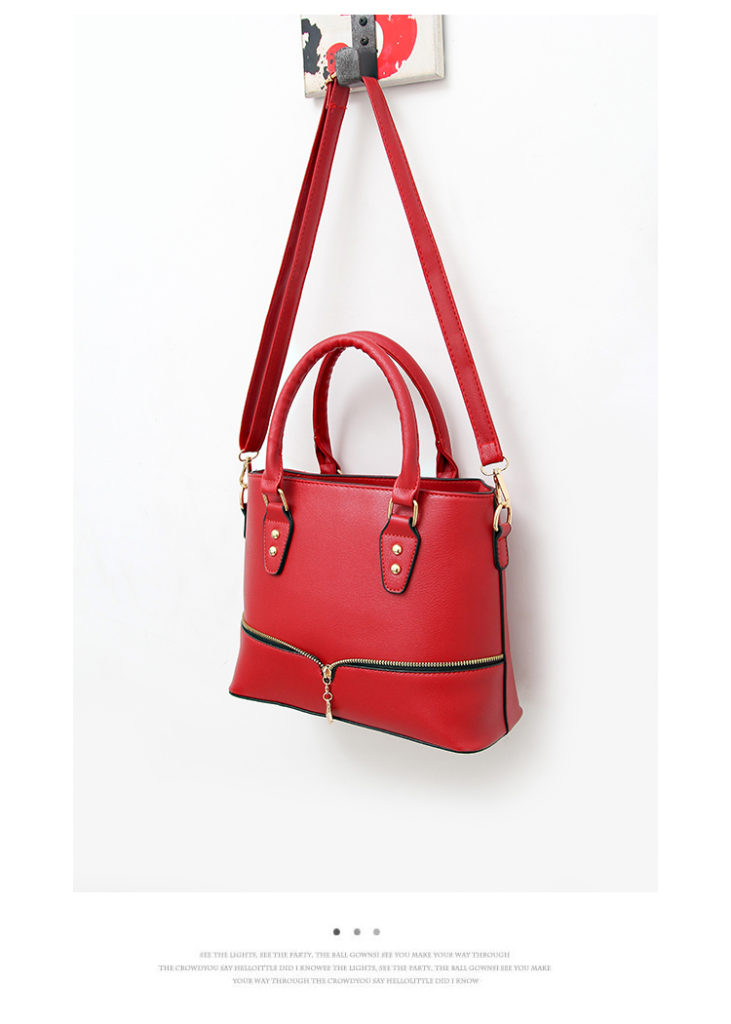 B598 IDR.186.000 TAS FASHION MATERIAL PU SIZE L29XH23XW12CM WEIGHT 750GR COLOR RED