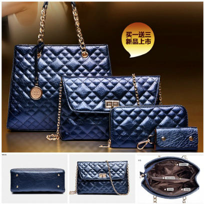 B613-(4in1) IDR.250.000 MATERIAL PU SIZE L32XH26XW14CM WEIGHT 1300GR COLOR BLUE
