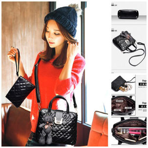 B614-(2in1) IDR.195.000 MATERIAL PU SIZE L27XH21XW11CM WEIGHT 750GR COLOR BLACK