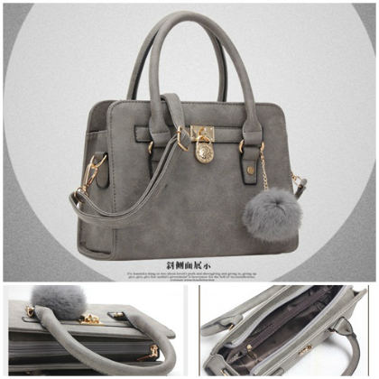 B623 IDR.186.000 MATERIAL PU SIZE L26XH18XW10CM WEIGHT 700GR COLOR GRAY