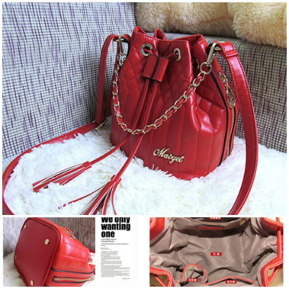 B628 IDR.175.000 MATERIAL PU SIZE L22XH22XW18CM WEIGHT 550GR COLOR RED