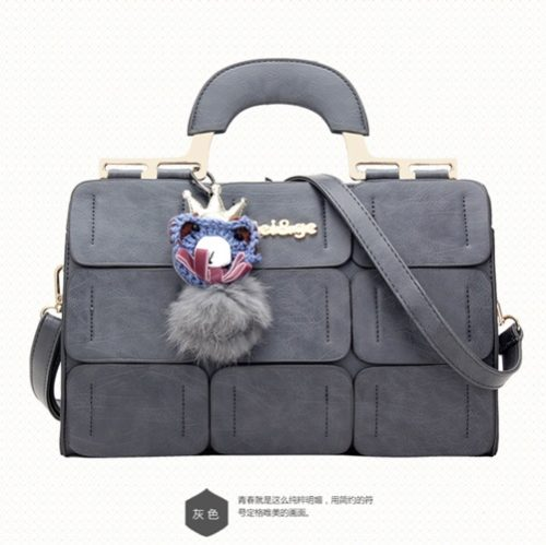 B632 MATERIAL PU SIZE L32XH22XW13CM WEIGHT 900GR COLOR GRAY