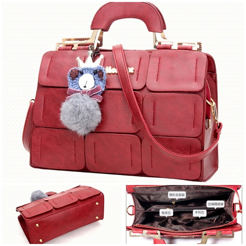 B632 IDR.201.000 MATERIAL PU SIZE L32XH22XW13CM WEIGHT 900GR COLOR RED