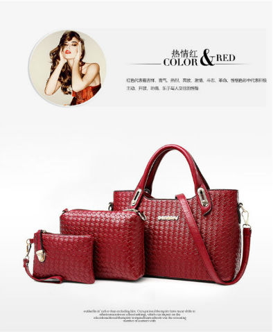 B642-(3in1) IDR.215.000 MATERIAL PU SIZE L33XH23XW15CM WEIGHT 1200GR COLOR RED