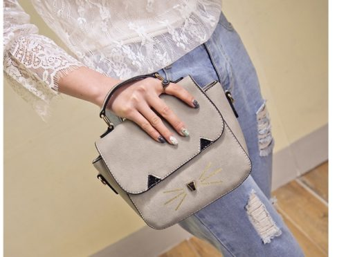 B654 IDR.165.000 TAS FASHION MATERIAL PU SIZE L22XH19XW10CM WEIGHT 600GR COLOR GRAY