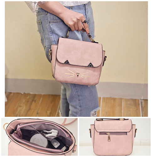 B654 IDR.165.000 TAS FASHION MATERIAL PU SIZE L22XH19XW10CM WEIGHT 600GR COLOR PINK