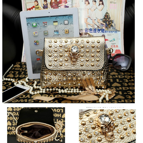B656 IDR.170.000 MATERIAL PU SIZE L21XH16XW10CM WEIGHT 650GR COLOR GOLD