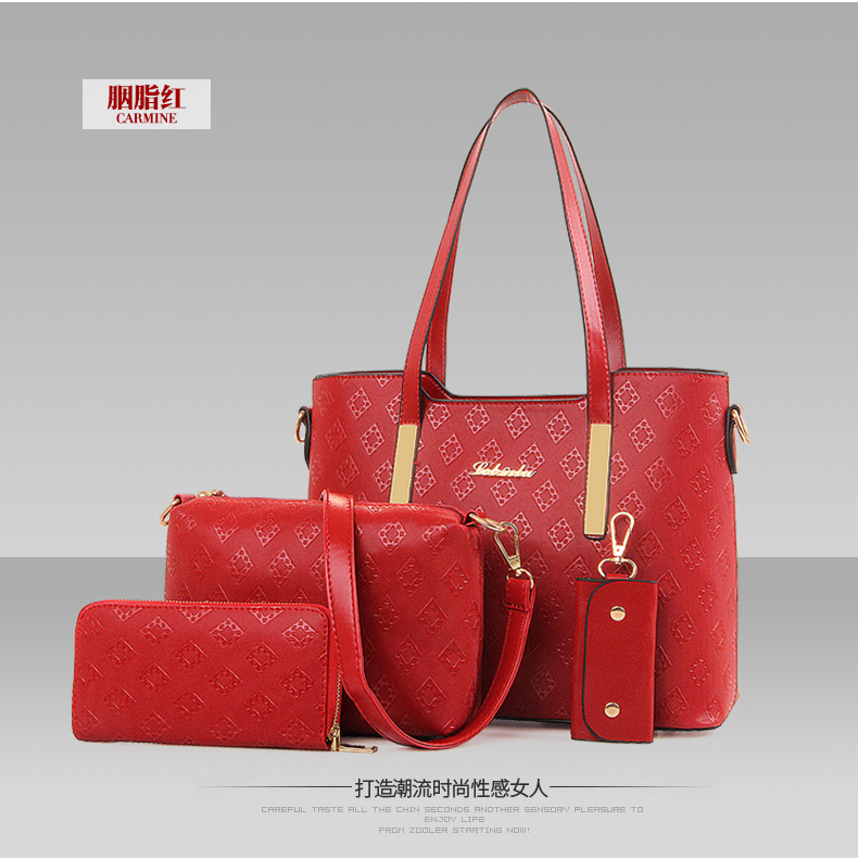B6840-(4in1) IDR.210.000 MATERIAL PU SIZE L32XH21XW14CM WEIGHT 1300GR COLOR RED
