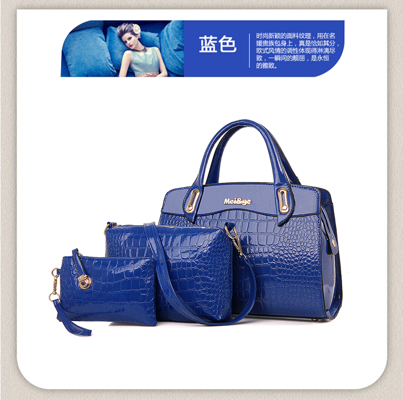 B687-(3in1) IDR.220.000 MATERIAL PU SIZE L33XH23XW12CM WEIGHT 1300GR COLOR BLUE