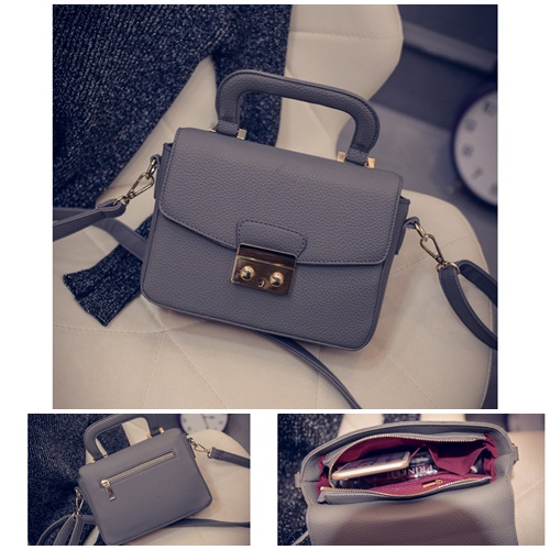 B7005 IDR.162.000 MATERIAL PU SIZE L21XH15XW7CM WEIGHT 650GR COLOR GRAY