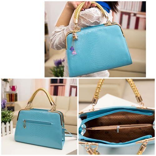 B702 MATERIAL PU SIZE L30XH25XW10CM WEIGHT 800GR COLOR BLUE