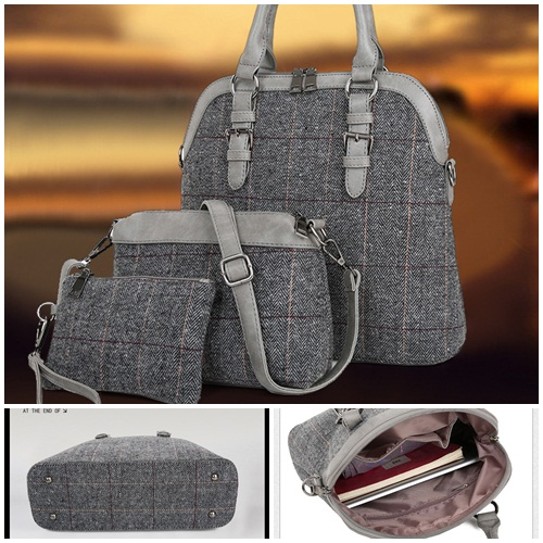 B703-(3in1) IDR.200.000 MATERIAL CANVAS SIZE L32XH30XW11CM WEIGHT 1300GR COLOR GRAY
