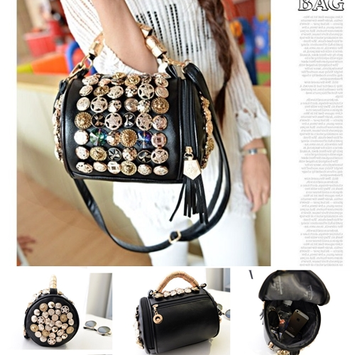 B705 IDR.193.000 MATERIAL PU SIZE L19XH18XW10CM WEIGHT 750GR COLOR BLACK