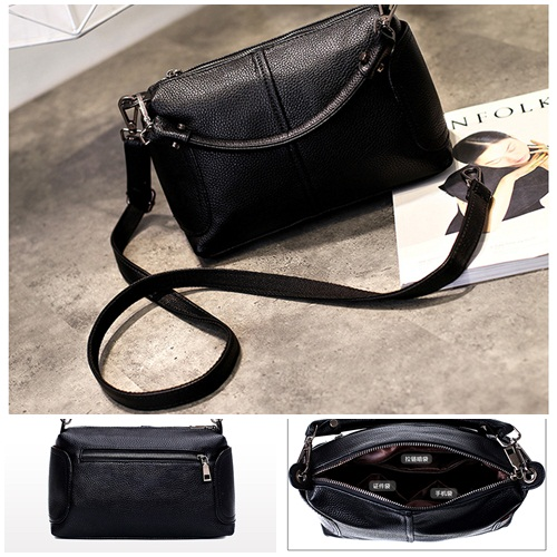 B7050 MATERIAL PU SIZE L25XH18XW13CM WEIGHT 700GR COLOR BLACK