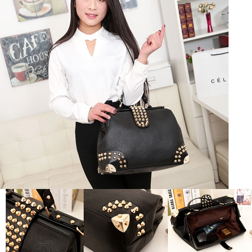 B722 IDR.184.000 MATERIAL PU SIZE L36XH26XW15CM-(INC-STRAP) WEIGHT 900GR COLOR BLACK