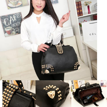 B722 IDR.199.000 MATERIAL PU SIZE L36XH26XW15CM-(INC-STRAP) WEIGHT 900GR COLOR BLACK