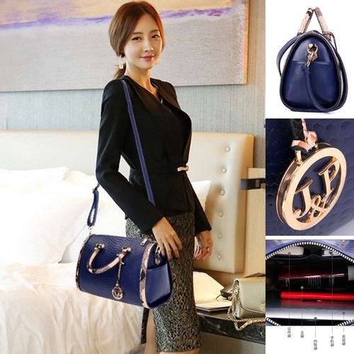 B7366 IDR.217.000 MATERIAL PU SIZE L31XH18XW14CM WEIGHT 800GR COLOR BLUE