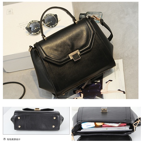 B7370 IDR.201.000 MATERIAL PU SIZE L25XH21XW10CM WEIGHT 700GR COLOR BLACK