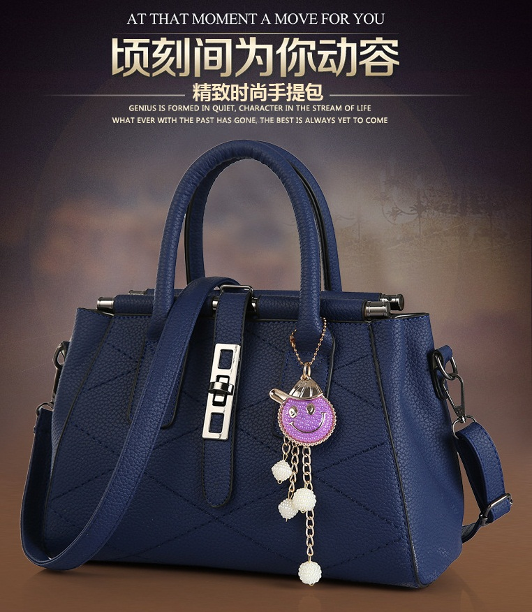 B751 IDR.205.000 MATERIAL PU SIZE L28XH20XW15CM WEIGHT 900GR COLOR BLUE