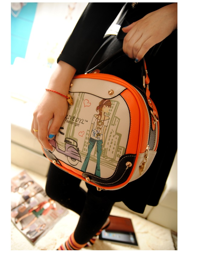 B753 IDR.178.000 MATERIAL PU SIZE L25XH20XW10CM WEIGHT 600GR COLOR ORANGE