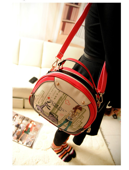 B753 IDR.178.000 MATERIAL PU SIZE L25XH20XW10CM WEIGHT 600GR COLOR RED