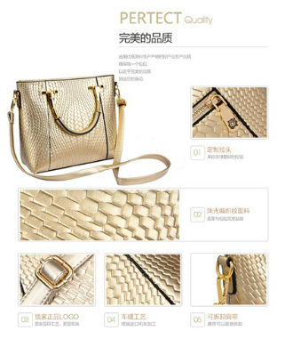 B7763 IDR.195.000 MATERIAL PU SIZE L29XH24XW11CM WEIGHT 900GR COLOR GOLD
