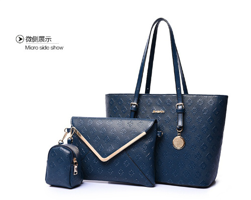 B7776-(3in1) IDR.200.000 MATERIAL PU SIZE L33XH26XW15CM WEIGHT 1100GR COLOR BLUE