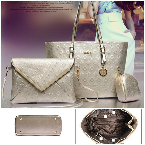 B7776-(3in1) IDR.200.000 MATERIAL PU SIZE L33XH26XW15CM WEIGHT 1100GR COLOR GOLD