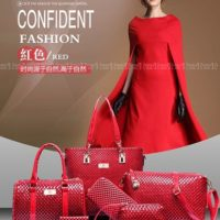 B7779 (6in1) - Harga Katalog / Sebelum Diskon Rp. 225.000 MATERIAL PU SIZE L30XH29XW21CM WEIGHT 1350GR COLOR RED