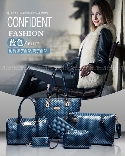 B7779-(6in1) IDR.225.000 MATERIAL PU SIZE L30XH29XW21CM WEIGHT 1400GR COLOR BLUE