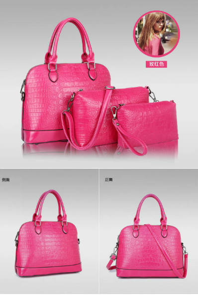 B790-(3in1) IDR.220.000 MATERIAL PU SIZE L32XH24XW13CM WEIGHT 1000GR COLOR ROSE